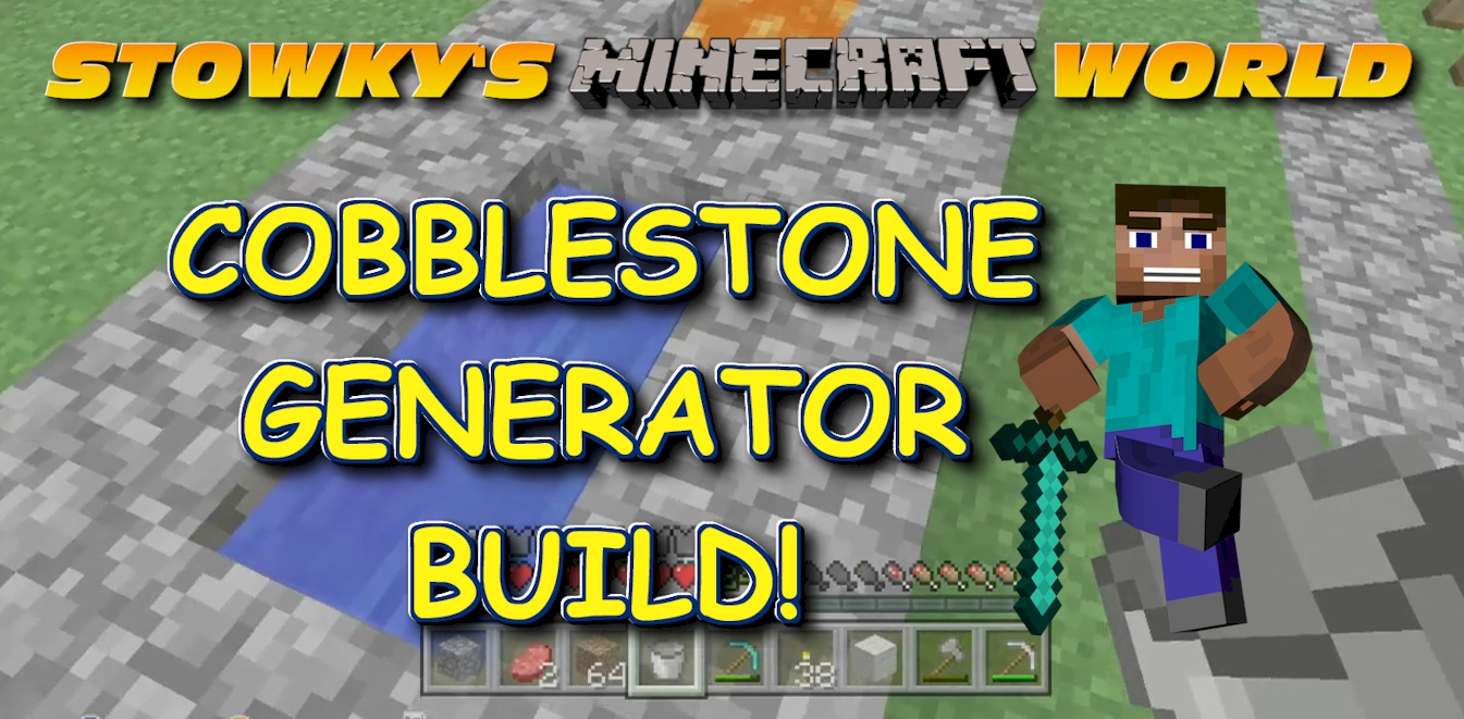 MINECRAFT COBBLESTON GENERATOR: This time around in Minecraft I build a cobblestone generator so that I can quickly build a sidewalk without having to do dangerous mining. This is a […]