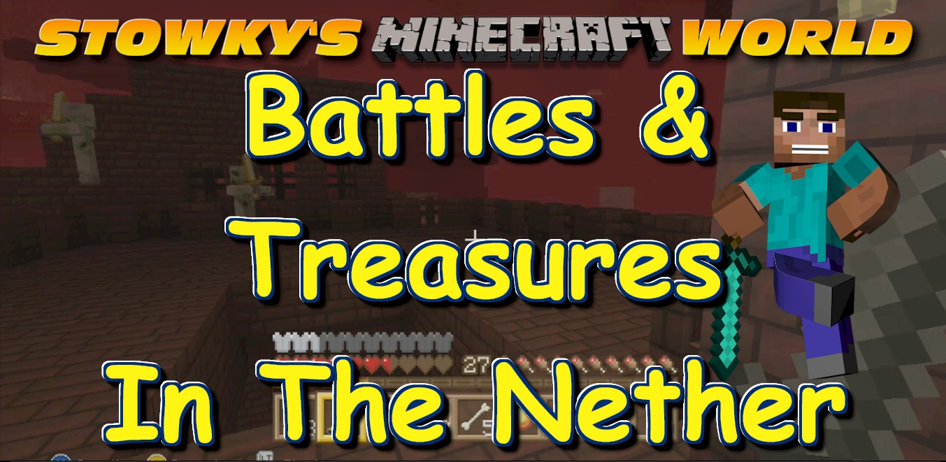 BATTLES AND TREASURES: It the Minecraft Nether again! And this time I am digging up treasure! But first I have to battle my way through dangerous corridors. Also in this […]