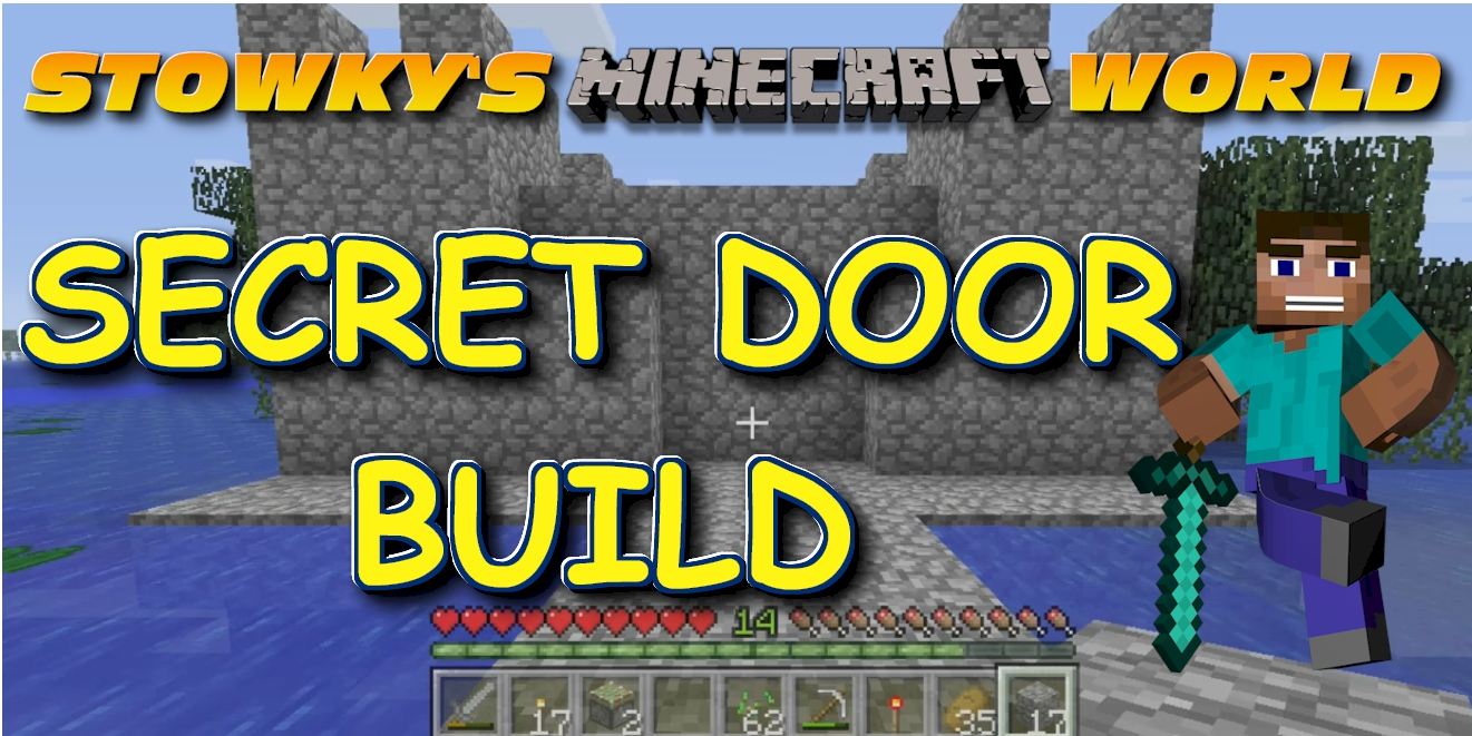 MINECRAFT SECRET DOOR BUILD USING STICKY PISTONS AND REDSTONE: In this addition of Stowky's Minecraft World, I build a secret door to my castle shed. This secret door build is […]