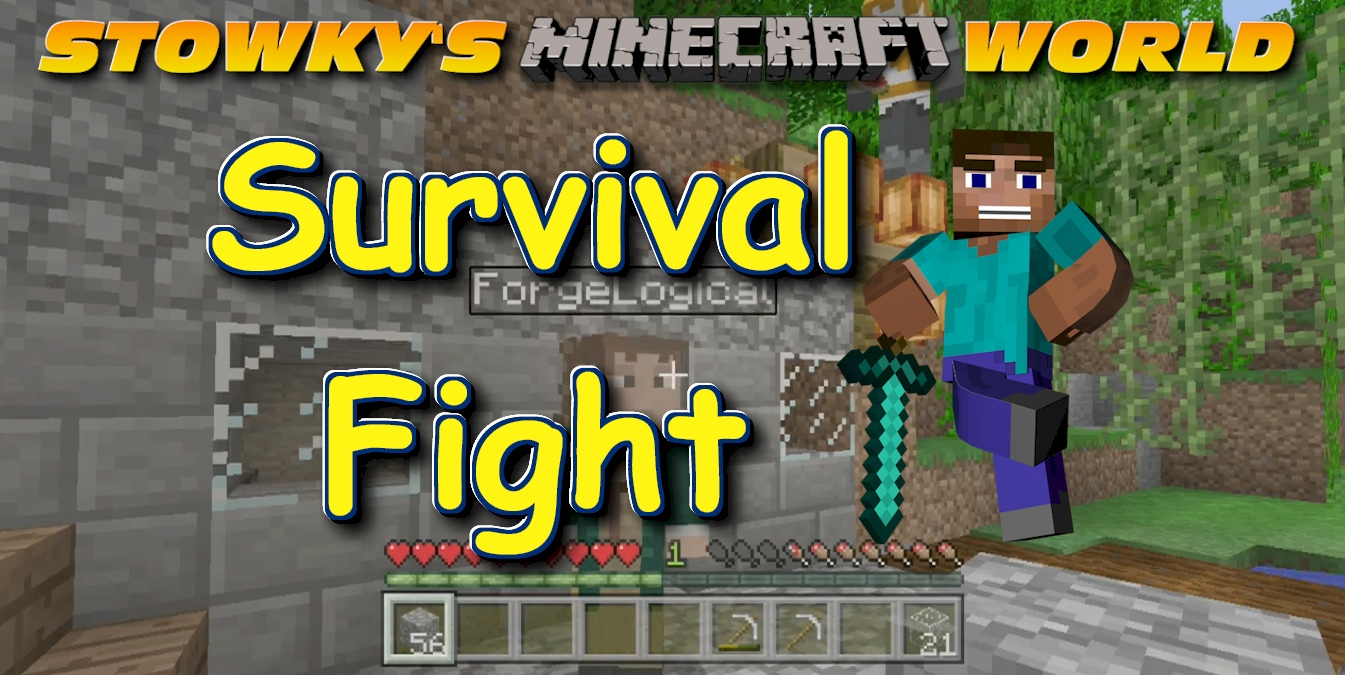 MINECRAFT SURVIVAL FIGHT: It's Minecraft survival only the monsters are not the dangers to watch out for. Kuav and ForgeLogical get into a scrap with each other and this is […]